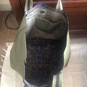Coach Bags - Hunter Green Coach Tote Bag